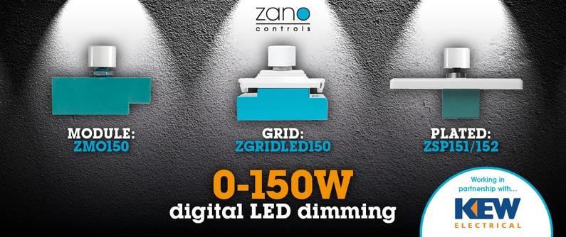 ZANO LED GRID DIMMER # FLICKER FREE # LED SILENT GRID MODULE 0-150W ZGRIDLED150