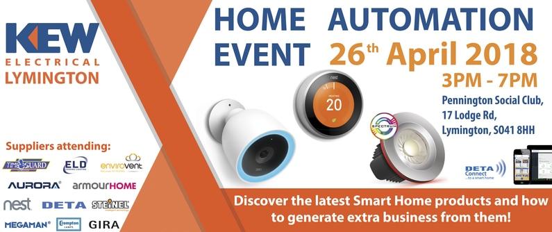 Kew Lymington Home Automation Event
