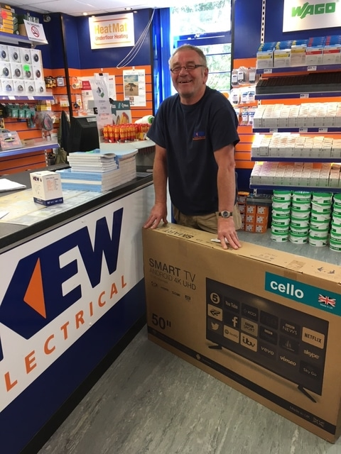 Win A Smart Tv With Kew Guildford
