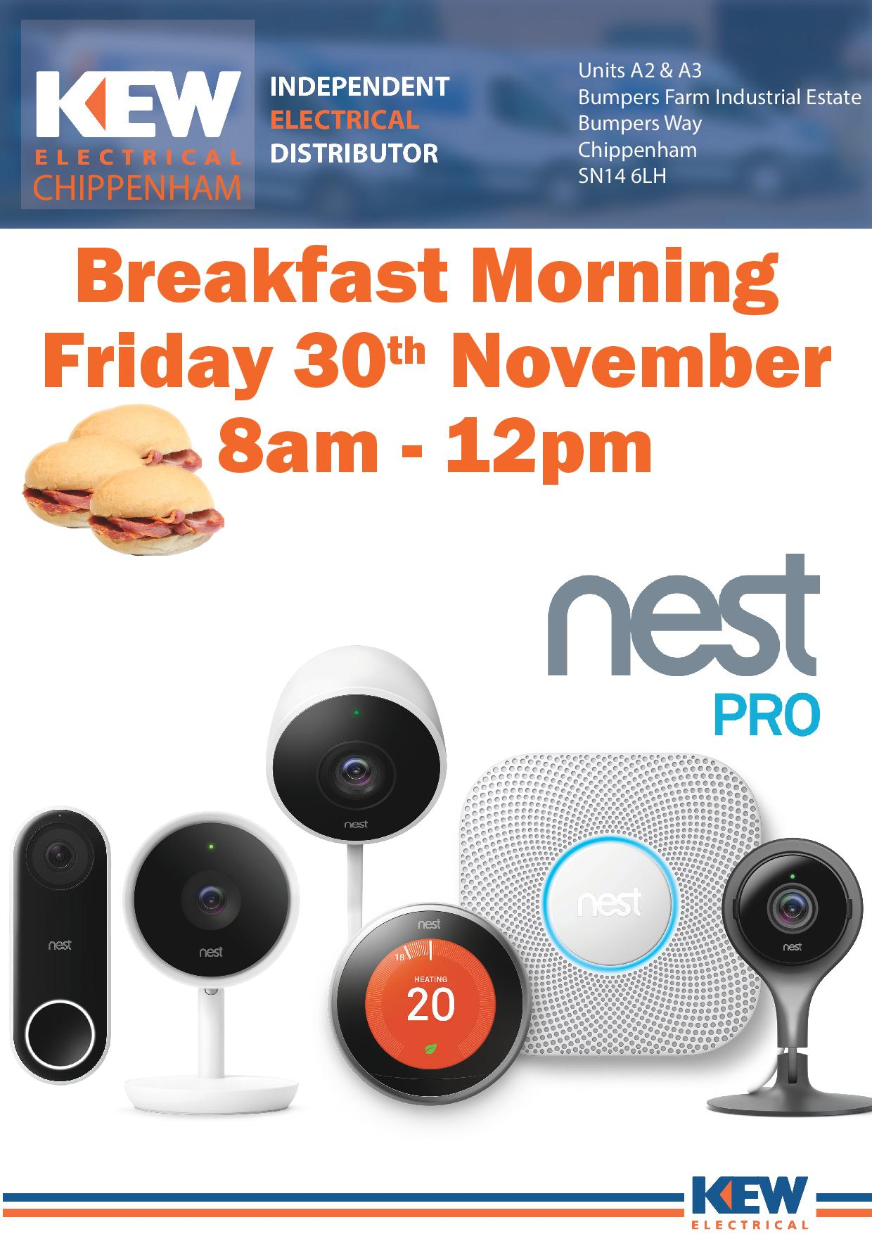 Nest Breakfast Morning With Kew Electrical