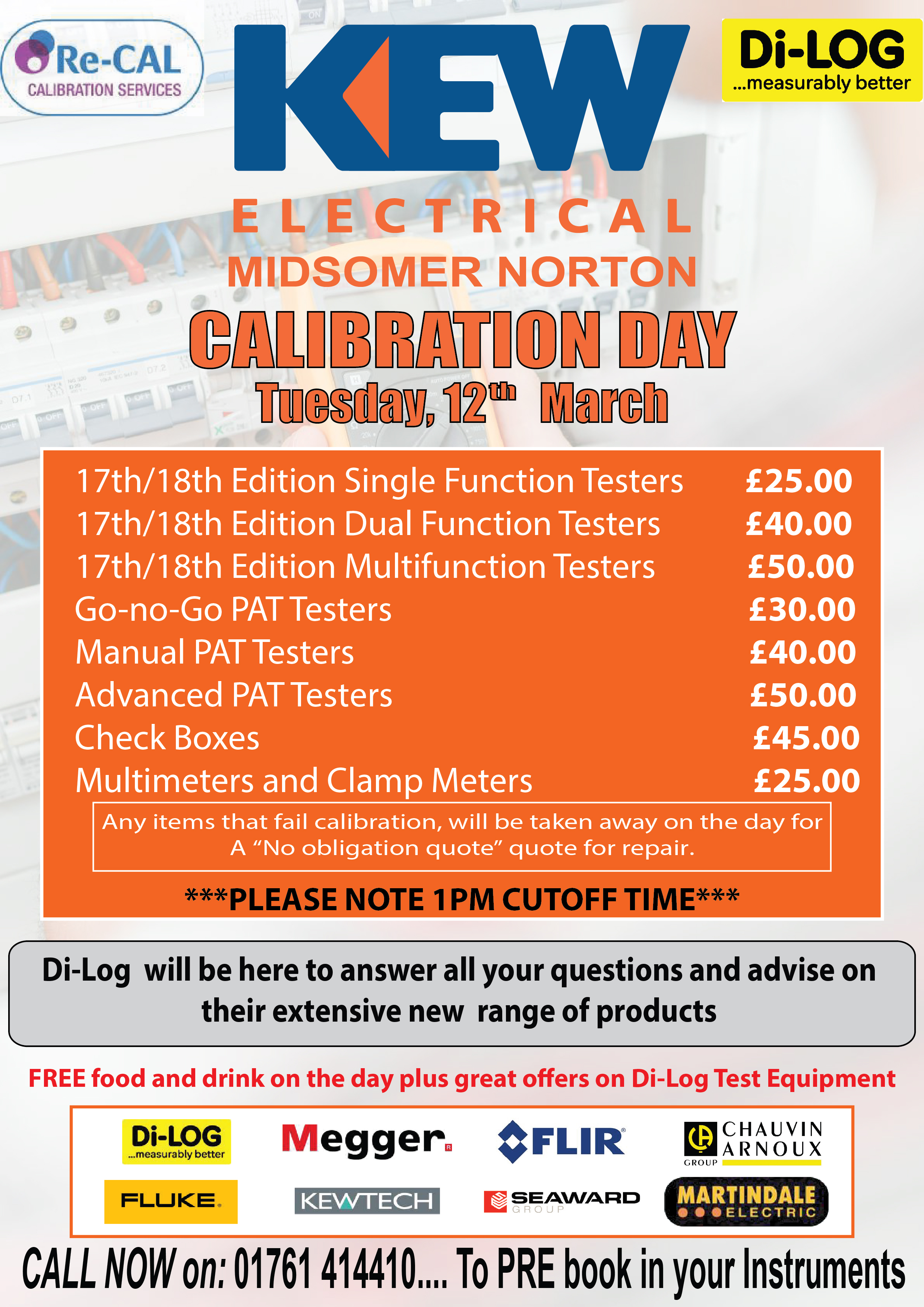 Midsomer Norton Calibration Day