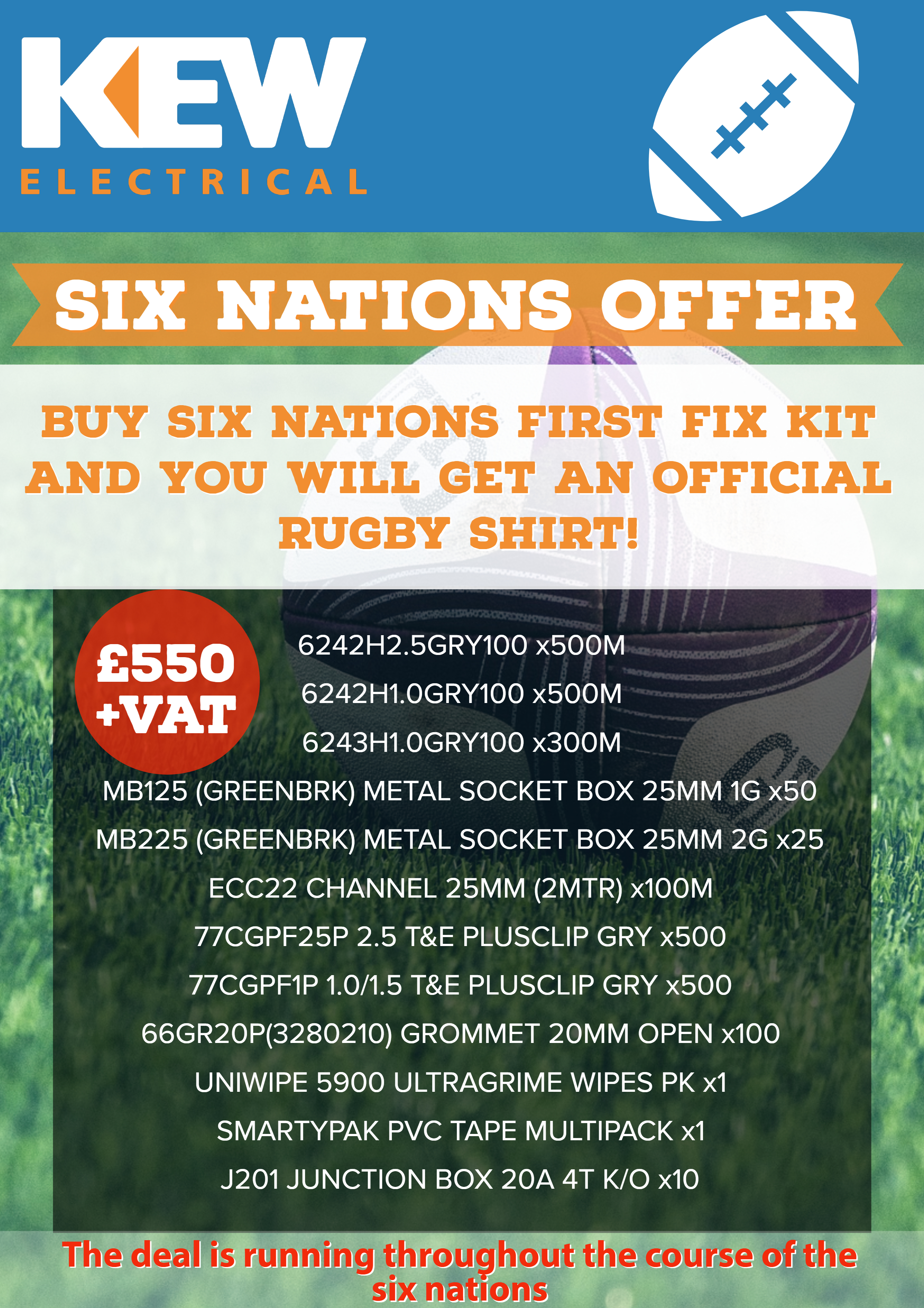 Six Nations Offer At Midsomer Norton
